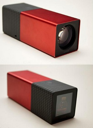 Forrás: http://en.wikipedia.org/wiki/File:Lytro_light_field_camera_-_front_and_back.jpg